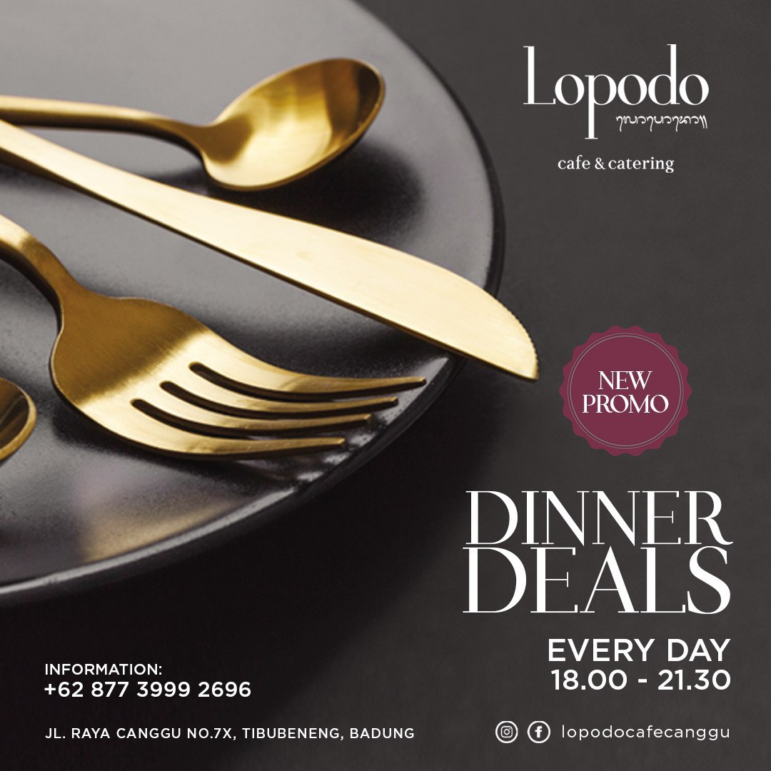 lopodo-promo-4-canggu-dinner-promo-couple-best-deal